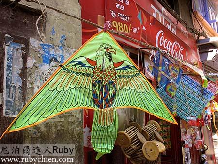放風箏是達善節期間的熱門活動。