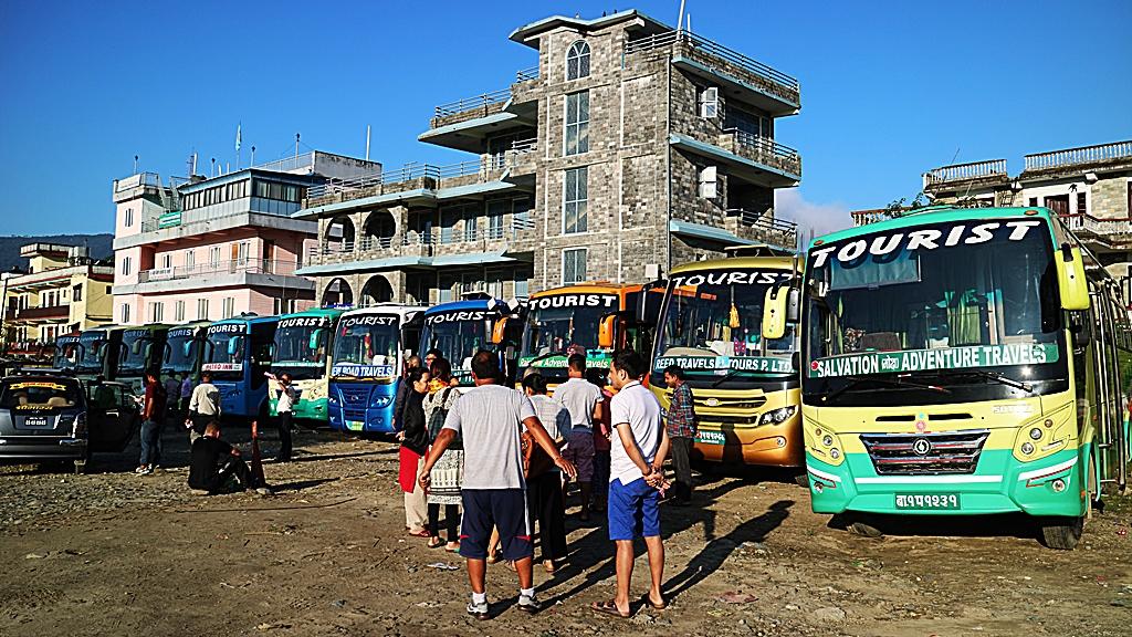 波卡拉的Tourist Bus Park
