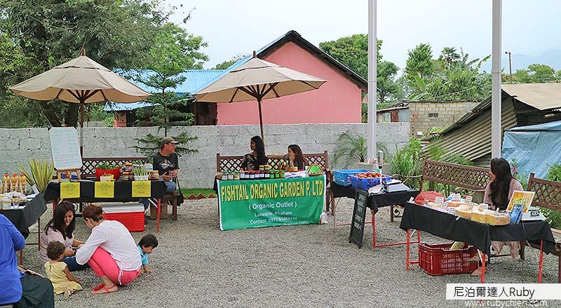 才開始不久的Dorje's Farmers' Market,希望之後的規模會愈來愈大。