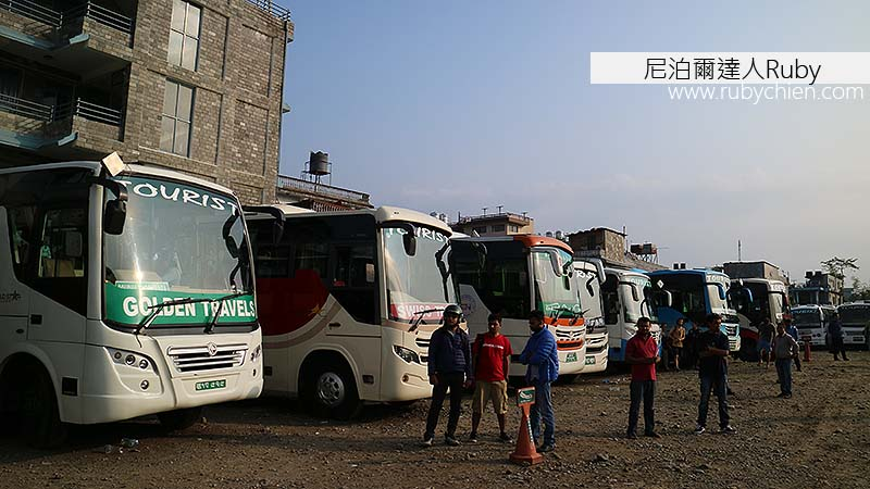 波卡拉的旅遊巴士站Tourist Bus Park