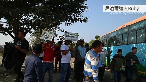 一到Tourist Bus Park就有很多旅店的工作人員來接旅客。